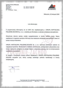 Kopalnia Granitu Mikoszów Sp. z o.o.