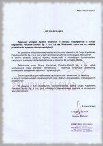 Rejonowy Związek Spółek Wodnych w Miliczu